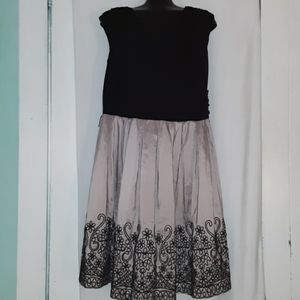 S.L. Fashion embroidered dress